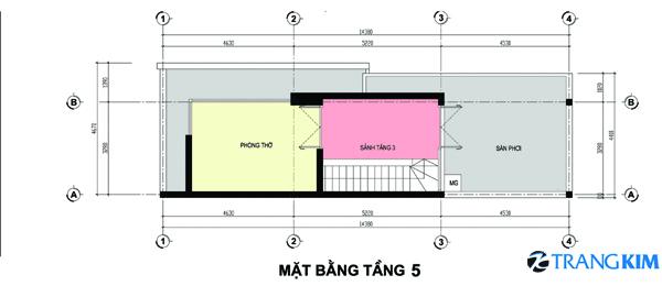 83 Thiết kế nhà phố 3,5x16m2
