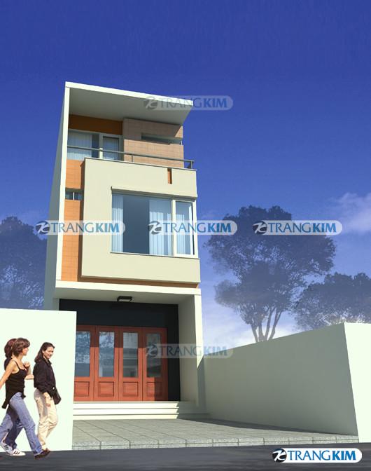 phoi-canh-cong-trinh-goc-1 Mặt đứng ngôi nhà và cảnh quan đô thị