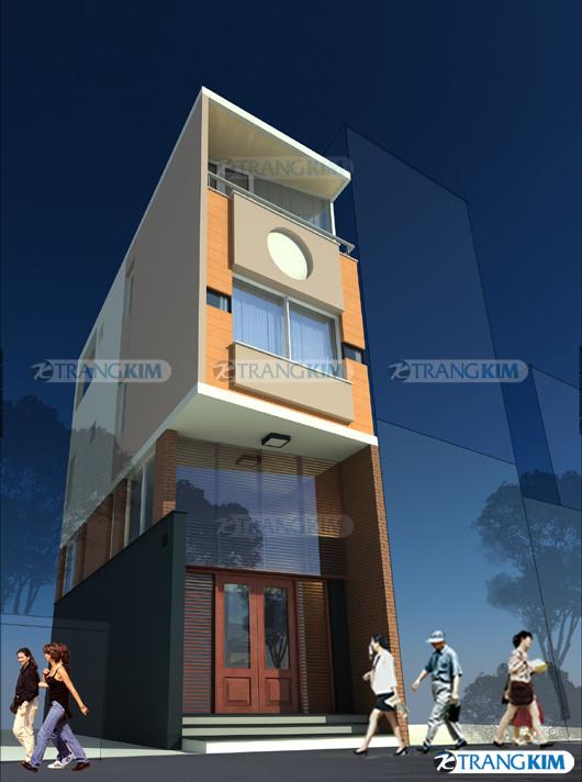 phoi-canh-kien-truc-cong-trinh1 Mặt đứng ngôi nhà và cảnh quan đô thị