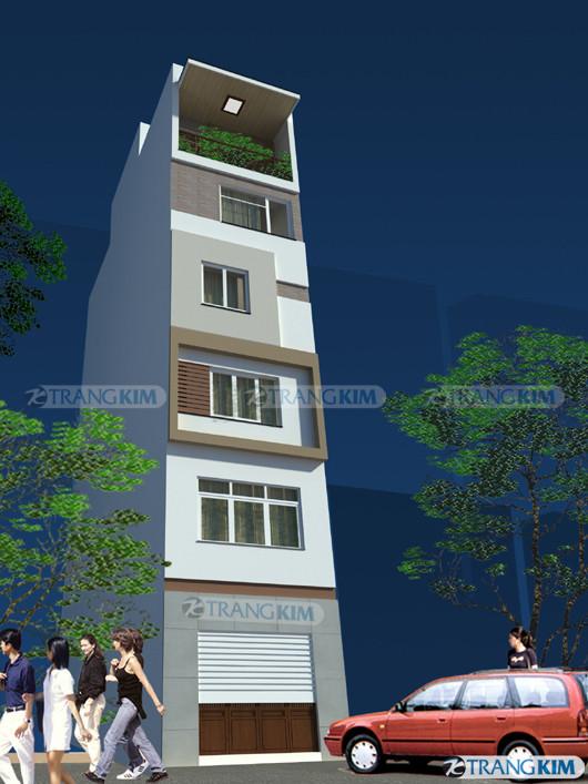 phoi-canh-nha-anh-tien-goc-1 Mặt đứng ngôi nhà và cảnh quan đô thị
