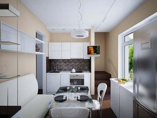 63 Bếp đẹp cho những không gian nhỏ trong nhà phố