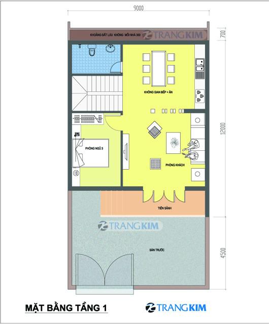 tu-van-kien-truc-nha-biet-thu-pho-tang-1 Tư vấn  thiết kế kiến trúc biệt thự mini 9x12m