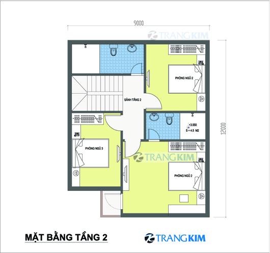 tu-van-kien-truc-nha-biet-thu-pho-tang-2 Tư vấn  thiết kế kiến trúc biệt thự mini 9x12m
