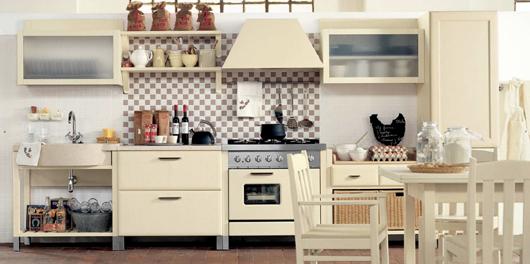 1 Nội thất gỗ đẹp như phòng bếp phong cách Italy