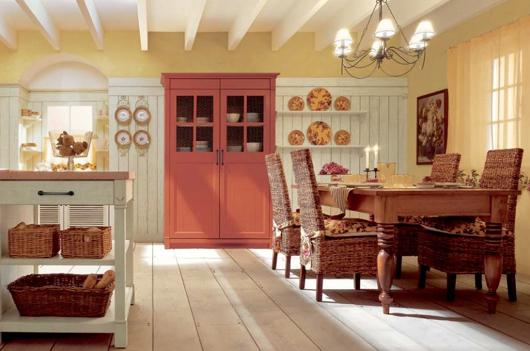 11 Nội thất gỗ đẹp như phòng bếp phong cách Italy
