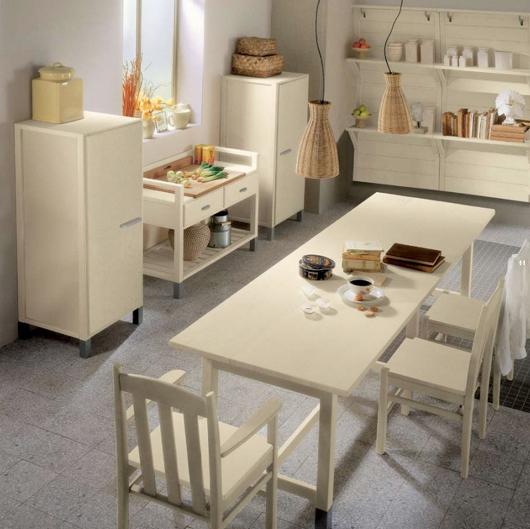 3 Nội thất gỗ đẹp như phòng bếp phong cách Italy