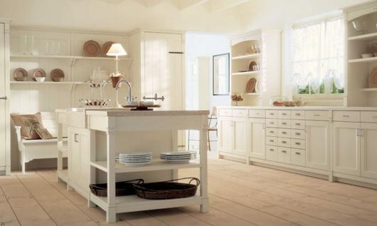 4 Nội thất gỗ đẹp như phòng bếp phong cách Italy