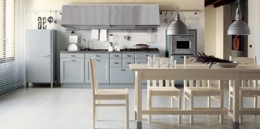 6 Nội thất gỗ đẹp như phòng bếp phong cách Italy