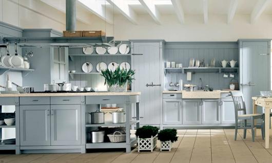 7 Nội thất gỗ đẹp như phòng bếp phong cách Italy