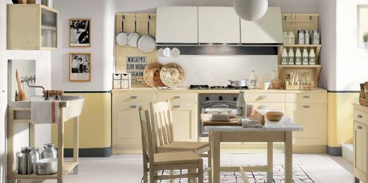 8 Nội thất gỗ đẹp như phòng bếp phong cách Italy
