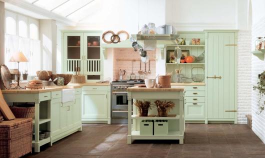 9 Nội thất gỗ đẹp như phòng bếp phong cách Italy
