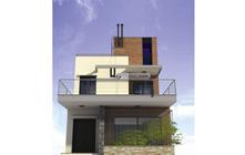 Kiến trúc nhà ống 2 tầng – Anh Hưng