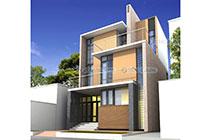 Thiết kế kiến trúc biệt thự phố hiện đại – Ông Dư