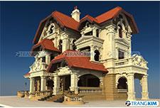 Thiết kế kiến trúc biệt thự cổ điển – Anh Hoàng, Thái Bình