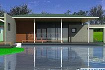 Thiết kế kiến trúc biệt thự nhà vườn hiện đại – Ông Sơn
