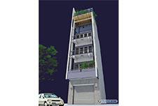 Kiến trúc nhà ống 5 tầng – Anh Trình
