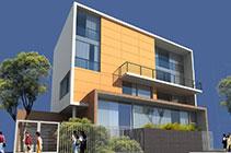 Kiến trúc biệt thự 4 tầng hiện đại – Ông Thuận