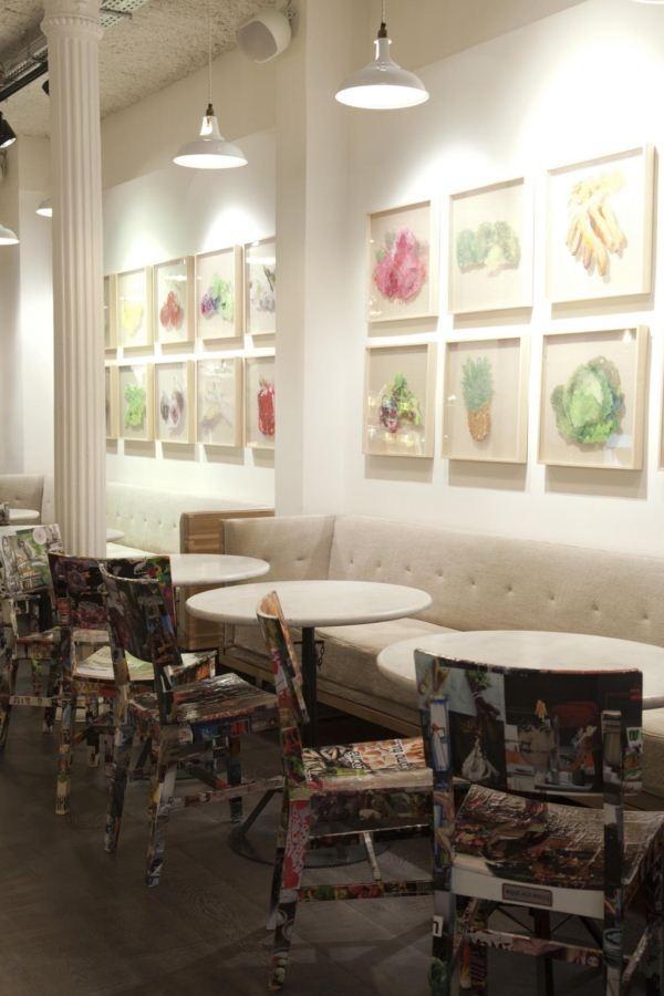Mẫu nội thất quán cafe đẹp 9