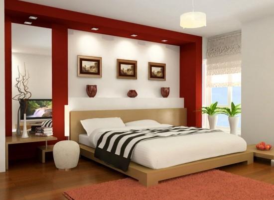 Trang trí nội thất cho phòng ngủ cho vợ chồng trẻ 1