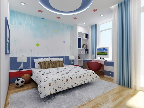 Giường ngủ kê bên dưới cửa sổ 1