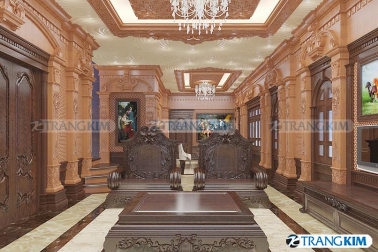 Thiết kế nội thất biệt thự cổ điển – Thái Bình