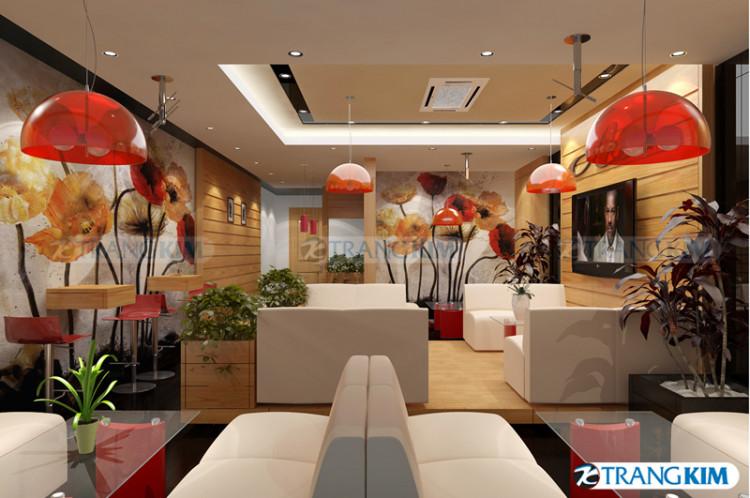 Thiết kế nội thất quán cafe – Cốc Lếu – Lào Cai