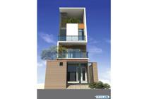 Thiết kế kiến trúc nhà ống 4 tầng – Quảng Ninh