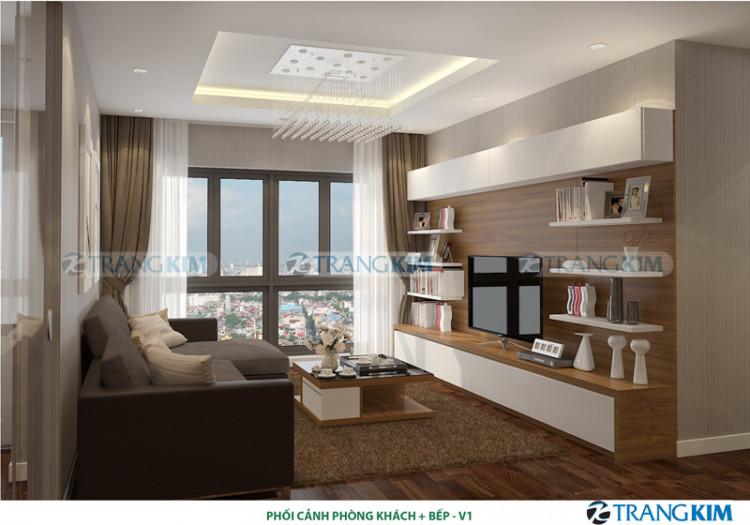 Thiết kế nội thất chung cư MULBERRY LAND – Hà Nội 1