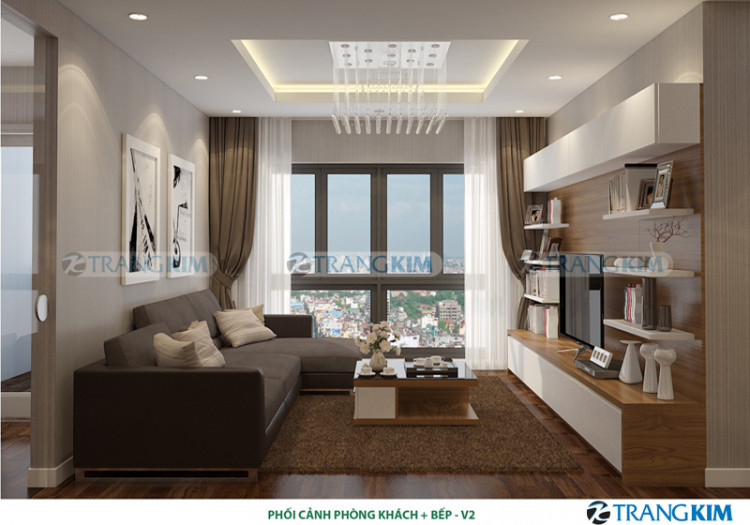 Thiết kế nội thất chung cư MULBERRY LAND – Hà Nội 2
