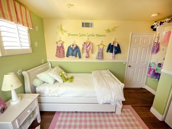 phong-ngu-be-gai-1 Những mẫu phòng ngủ đẹp cho bé gái