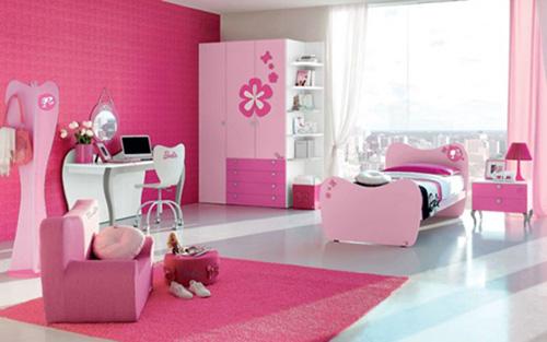 phong-ngu-be-gai-12 Những mẫu phòng ngủ đẹp cho bé gái