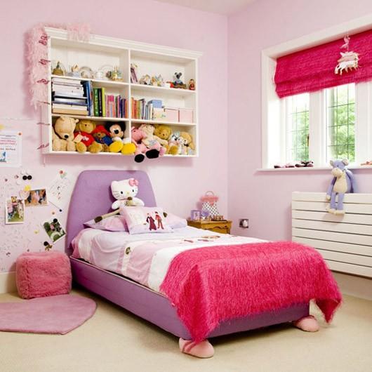 phong-ngu-be-gai-7 Những mẫu phòng ngủ đẹp cho bé gái