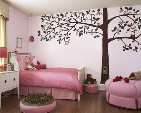 phong-ngu-be-gai-8 Những mẫu phòng ngủ đẹp cho bé gái