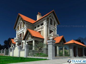 Mẫu nhà biệt thự đẹp của công ty Kiến trúc Trang Kim (p2)