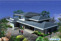 Thiết kế kiến trúc biệt thự nhà vườn – Anh Trường, Yên Bái