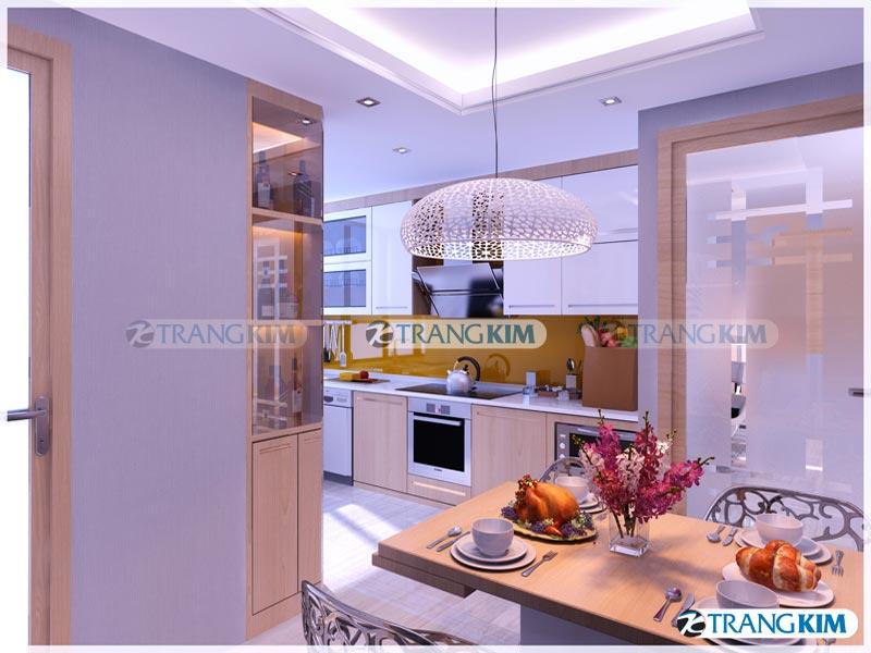 Thiết kế nội thất chung cư Number one Thăng long Hà Nội - Chị Hoa 7