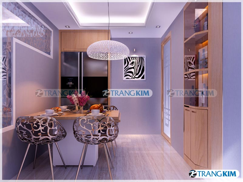 Thiết kế nội thất chung cư Number one Thăng long Hà Nội - Chị Hoa 9