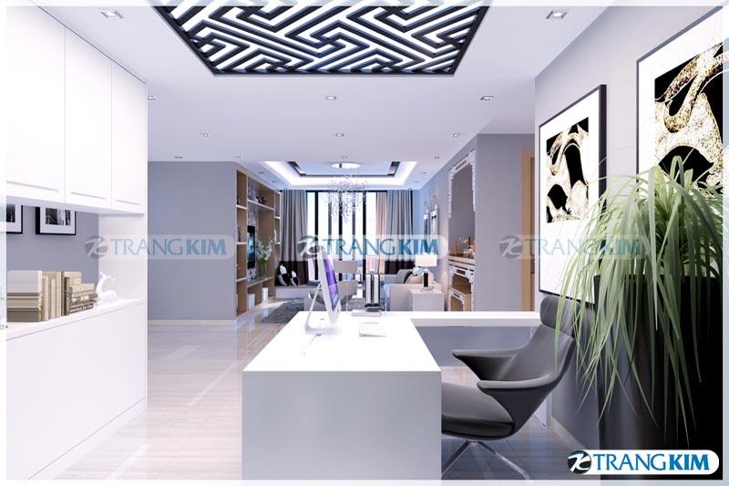 Thiết kế nội thất chung cư Number one Thăng long Hà Nội - Chị Hoa 3