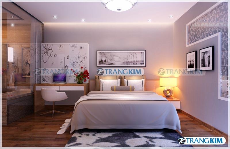 Thiết kế nội thất chung cư Number one Thăng long Hà Nội - Chị Hoa 10