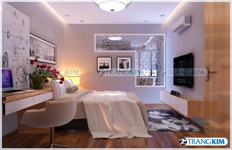 Thiết kế nội thất chung cư Number one Thăng long Hà Nội - Chị Hoa 13