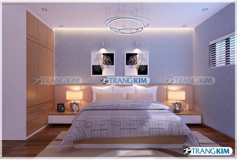 Thiết kế nội thất chung cư Number one Thăng long Hà Nội - Chị Hoa 14