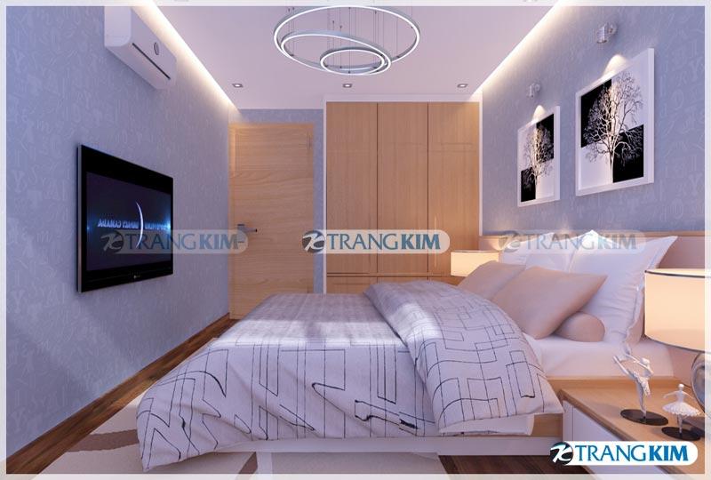 Thiết kế nội thất chung cư Number one Thăng long Hà Nội - Chị Hoa 16