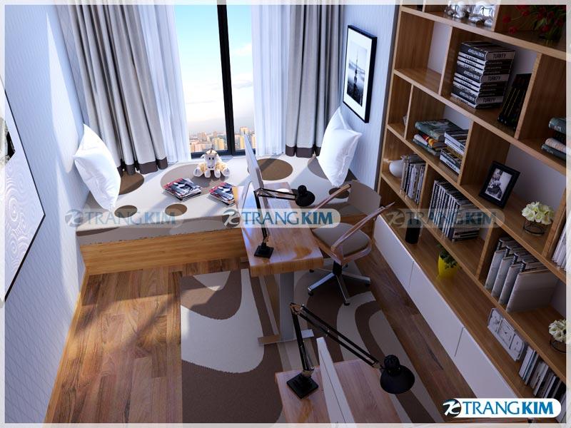 Thiết kế nội thất chung cư Number one Thăng long Hà Nội - Chị Hoa 17