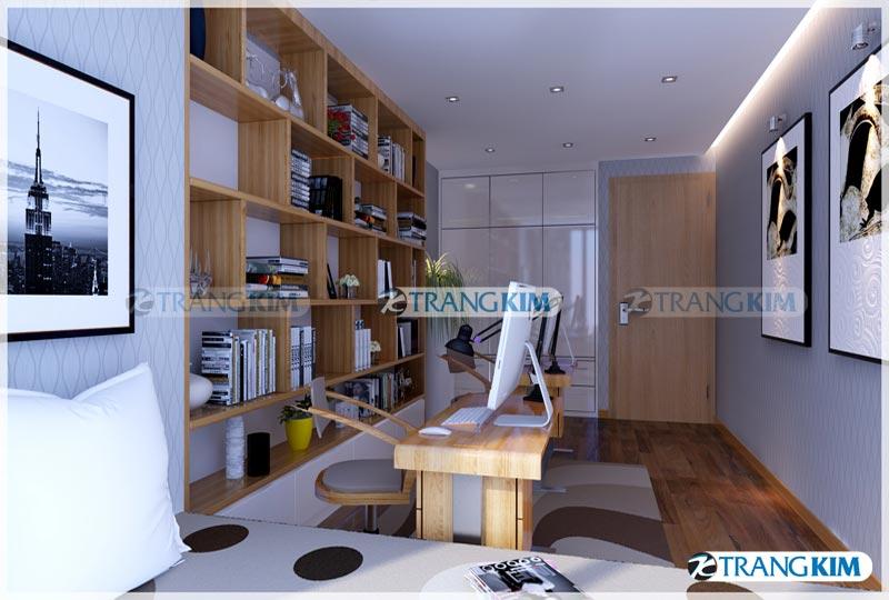 Thiết kế nội thất chung cư Number one Thăng long Hà Nội - Chị Hoa 18