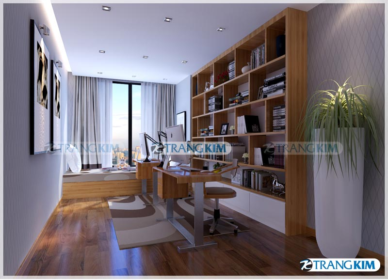 Thiết kế nội thất chung cư Number one Thăng long Hà Nội - Chị Hoa 19
