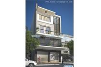 Thiết kế kiến trúc nhà ống mặt tiền 8m hiện đại – Anh Chung – TP Hà Tĩnh