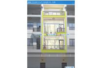 Thiết kế kiến trúc nhà ống hiện đại – Chú Hiển – Phố Soi Tiền –TP Lào Cai