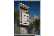 Thiết kế kiến trúc nhà ống hiện đại – Anh Hiền – TP Sơn La