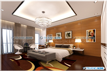 Thiết kế nội thất nhà ống kết hợp văn phòng làm việc – Anh Sơn