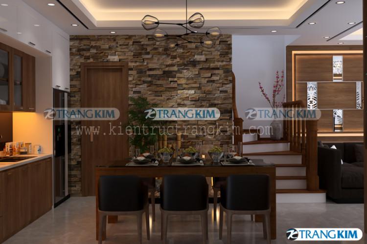 nội thất phòng khách và bếp ăn - v6